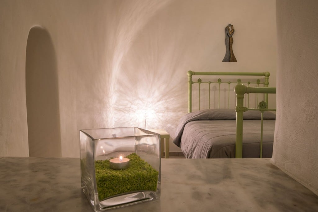 Bedroom | Hideaway Cave House | Vip Suite Santorini | Imerovigli |Santorini