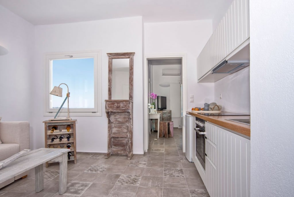 Kitchen | Villa with Private Pool Santorini | Megalochori