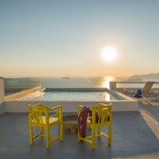 Santorini Suites and villa with private pool