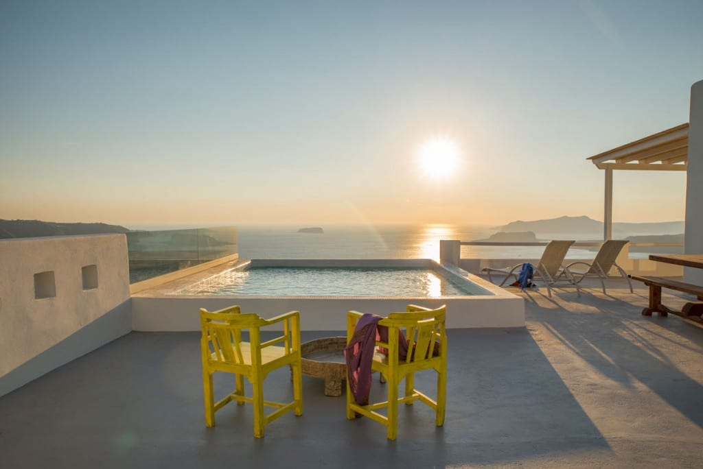 Villa with private pool | Caldera view | Suite Santorini