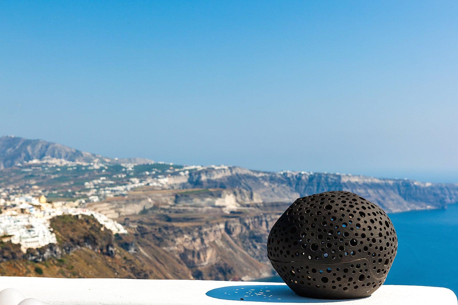 santorini luxury villa view Oia Santorini
