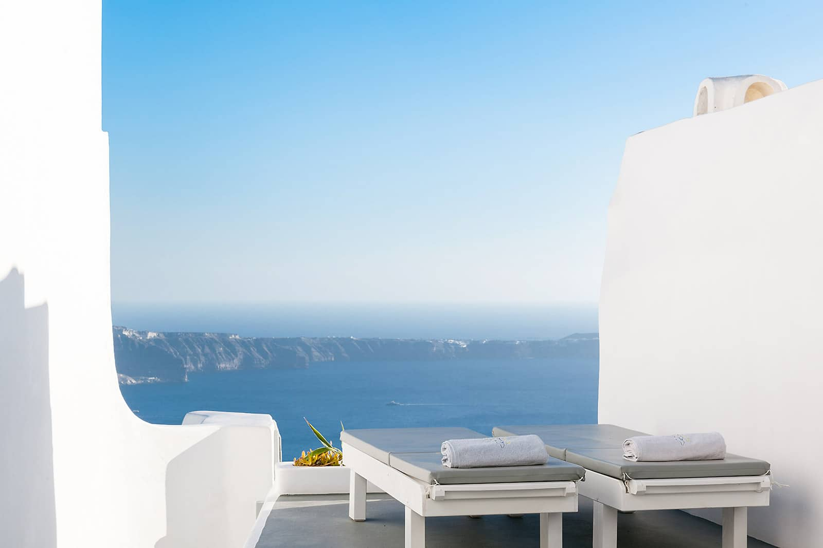 santorini luxury villa with view caldera 09