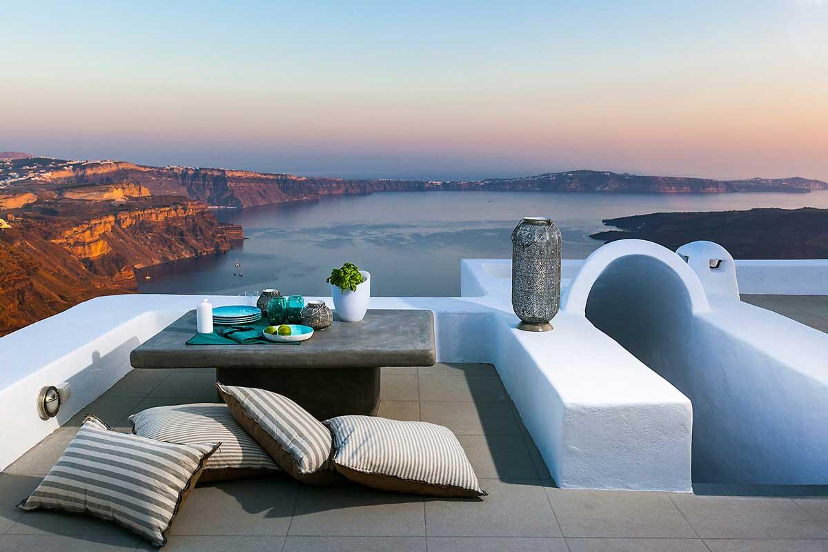 Luxury Villa with Caldera View Santorini | Infinity pool santorini