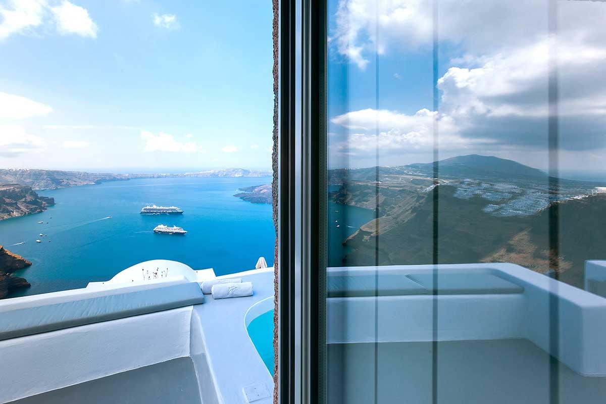 caldera view luxury villa santorini kitchen 1b
