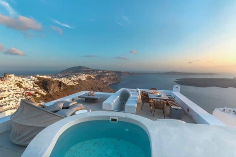 view pura vida villa house luxury suites santorini 08
