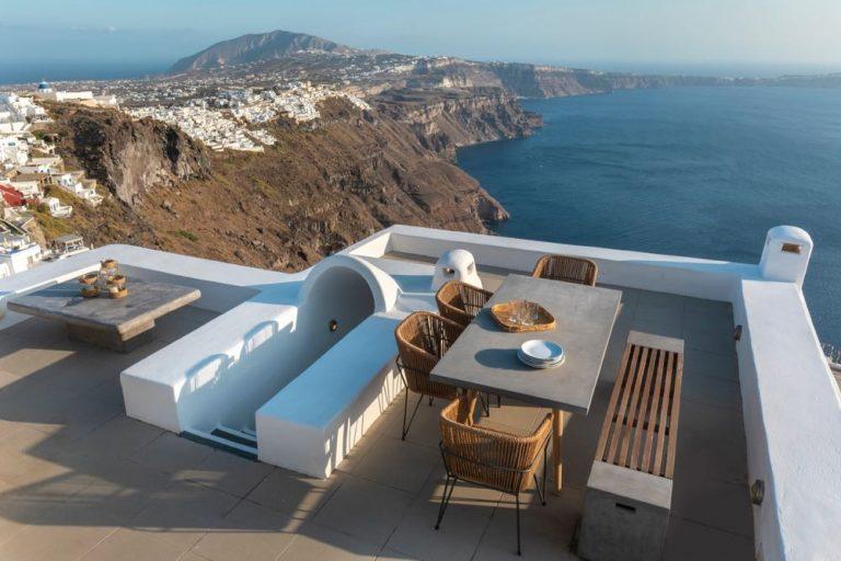 view pura vida villa house luxury suites santorini 14