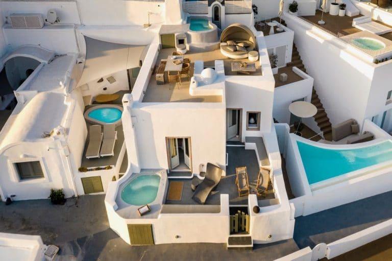 view pura vida villa house luxury suites santorini 16